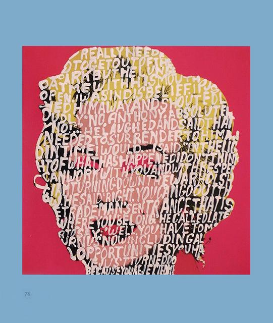 , 'Women Words (Warhol) ,' 2018, P.P.O.W