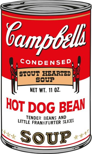 Sunday B. Morning, 'Soup Can (Hot Dog Bean)', 2015, Puccio Fine Art