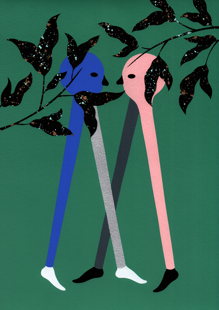 , 'Couple 3,' 2016, Alice