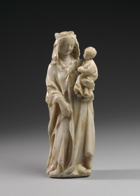, 'Madonna and Child,' France (Ile de France)-circa 1350, Blumka Gallery