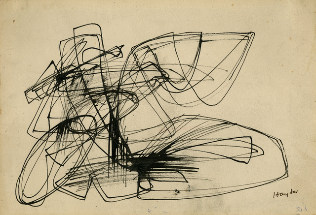 , 'Untitled (Abstract Composition),' 1946, Thomas French Fine Art