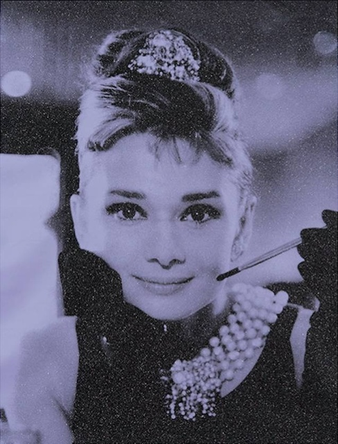 , 'Audrey Hepburn - Rocket Lavender,' 2017, Art Angels