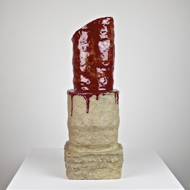 , 'Red Lipstick for Life,' 2018, Eutectic Gallery