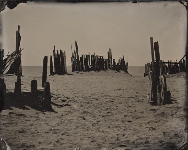, '04.05.20 #8 Beach Barrier,' 2004, Black Box Projects