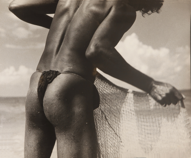 , 'Untitled (Fisherman with net),' ca. 1935, Jhaveri Contemporary