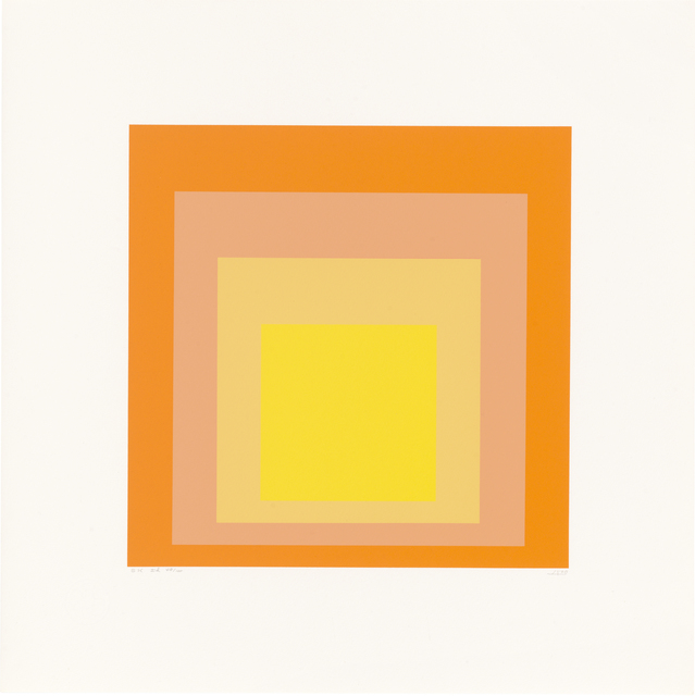 , 'Homage to the Square: Edition Keller Ih,' 1970, Ludorff
