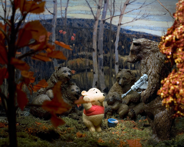Diana Thorneycroft, 'Maple and Birches with Winnie the Pooh', 2009, Art Mûr