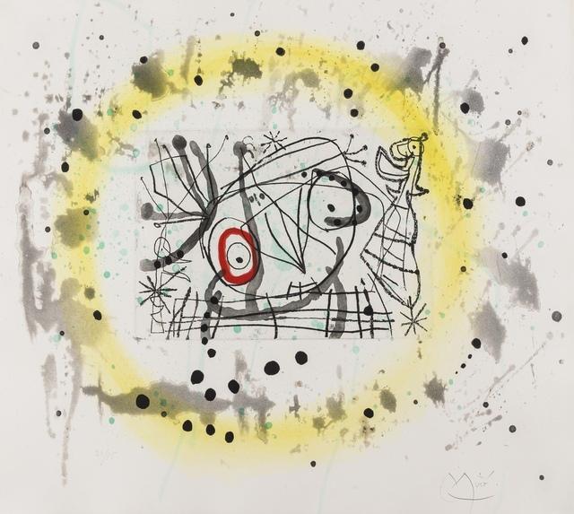 Joan Miró, 'Fissures (Dupin 469)', 1969, Forum Auctions