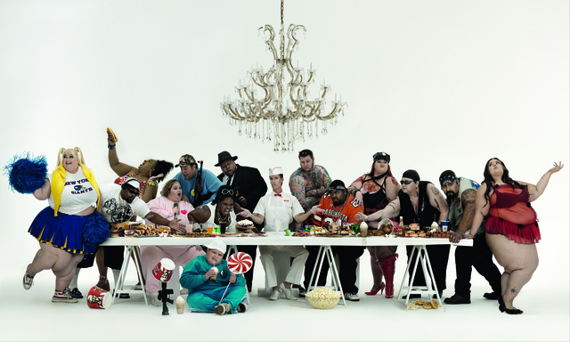 , 'The Big Supper,' 2008, Opera Gallery