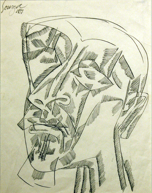 , 'Untitled (Abstract Head),' 1957, Aicon Gallery