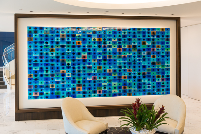 Penelope Umbrico, 'Gardere Installation (Houston, TX)', 2015, Mark Moore Fine Art