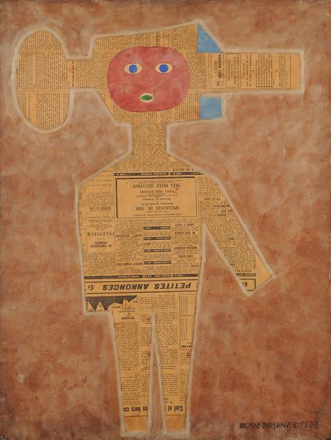 , 'Le Specialiste du vide – Petites announces,' 1959, Leila Heller Gallery