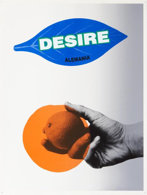 , 'Desire,' 2012, Linn Lühn