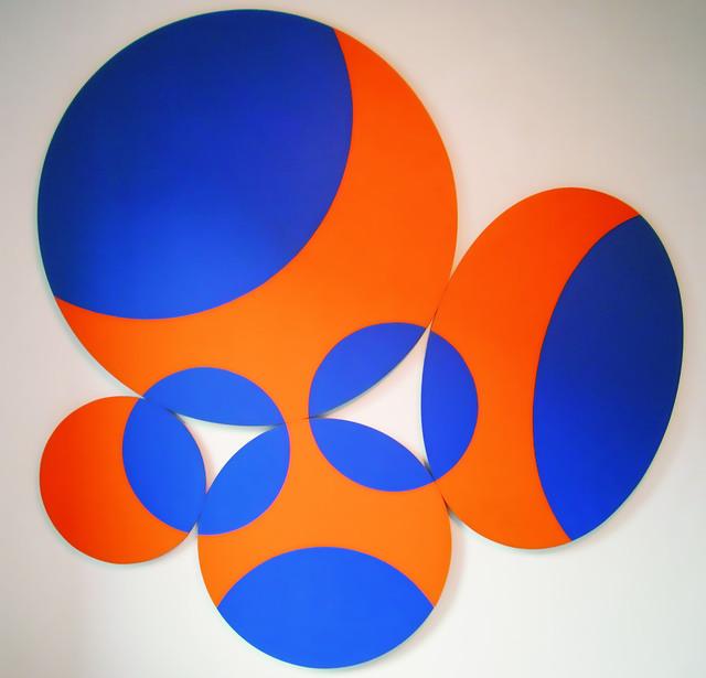 , 'constellation blue-gold ,' 1972, Edition & Galerie Hoffmann