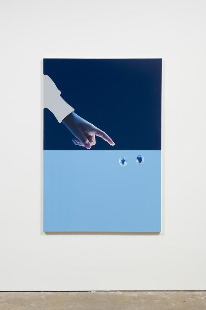 , 'Blue Side,' 2017, UTA Artist Space