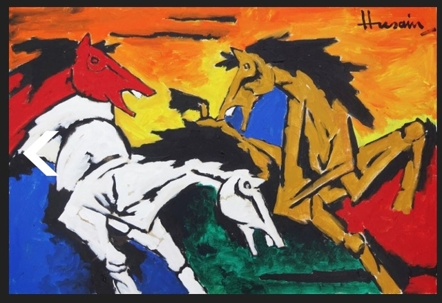 , 'Untitled (Colorful Horses),' , Aicon Gallery
