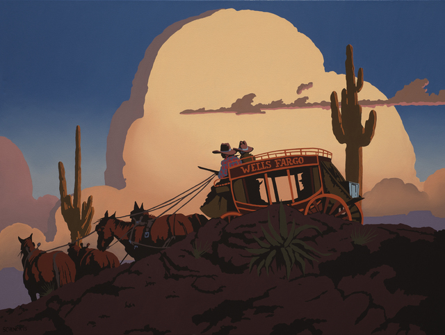 , 'On the Trail to Santa Fe,' 2015, Modern West Fine Art