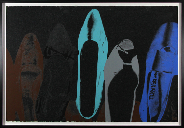 Andy Warhol, 'Diamond Dust Shoe 257', 1980, Gormleys Fine Art