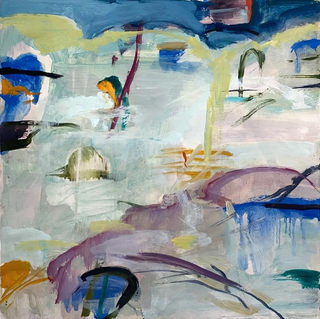 Michael Mazur, 'Untitled', 1998, Painting, Oil on vellum, Elizabeth Clement Fine Art