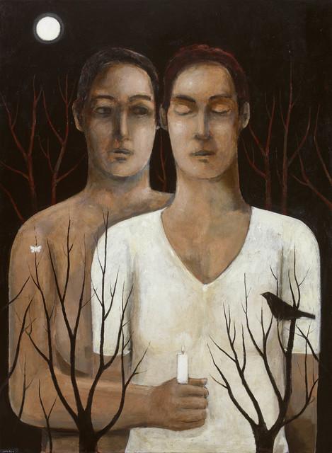, 'Mab and Ianthe,' 2017, John Martin Gallery