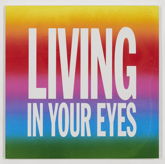 , 'LIVING IN YOUR EYES,' 2017, Cahiers d'Art
