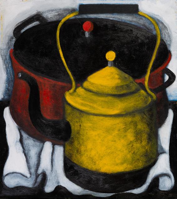 Abe Odedina, 'Pot calling kettle black', 2019, Ed Cross Fine Art