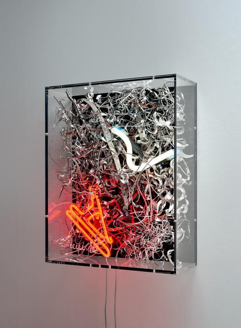 Anselm Reyle, 'Untitled', 2020, Mixed Media, Mixed media on canvas, neon, acrylic glass, KÖNIG GALERIE