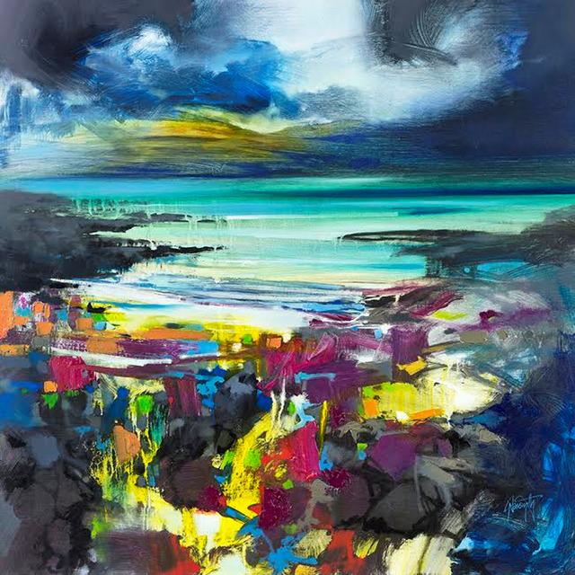 , 'Harris Blue,' 2017, Wychwood Art