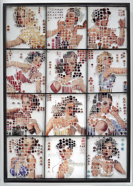 , 'Calendar Girls,' 2015, Opera Gallery