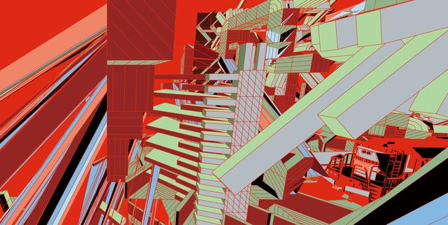 , 'Obsolete Landscape,' 2015, salon de H