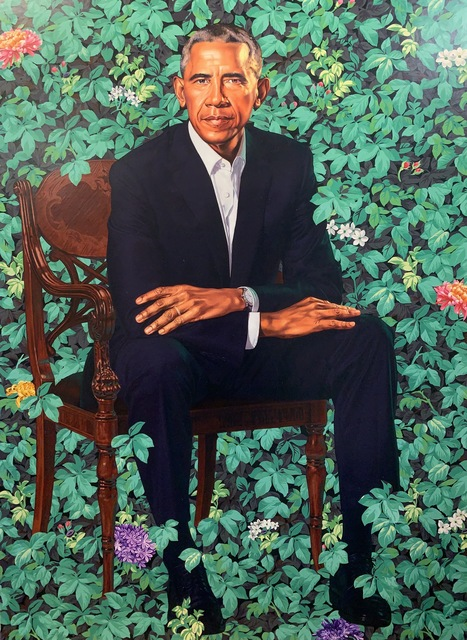 Kehinde Wiley, 'Barack Obama White House Portrait', 2018, New Union Gallery