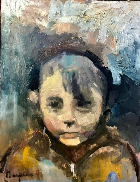, 'Longton Boy,' 2018, Barewall Art Gallery