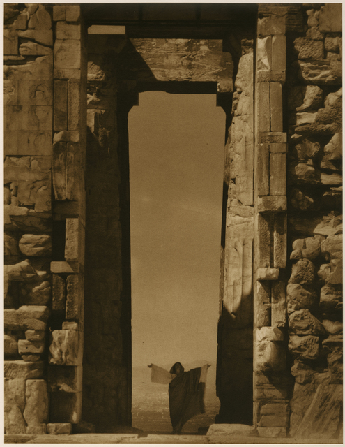 Edward Steichen, 'Isadora Duncan at the Portal of the Parthenon, Athens', 1921, Gallery 270