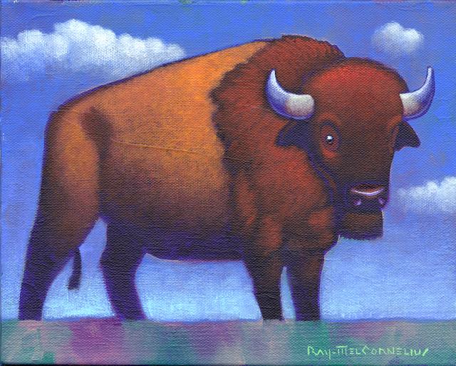 Ray-Mel Cornelius, 'Large Animal Small Canvas 1', 2019, Ro2 Art