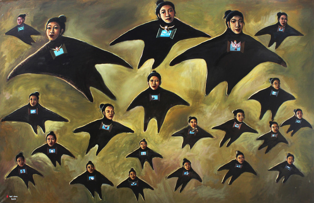 , 'The flying Angels II,' 2014, Tang Contemporary Art