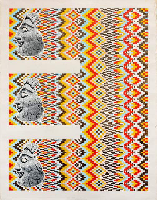 Matthew Craven, 'Triiiplets', 2015, Asya Geisberg Gallery