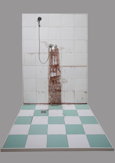 , 'Winter Bathroom Wall,' 2013, Klein Sun Gallery