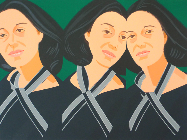 Alex Katz, 'Grey Ribbon (from Alex & Ada portfolio) ', 1990, Nikola Rukaj Gallery