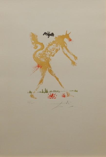 Salvador Dalí, '8 Mortal Sins Pride', 1966, Fine Art Acquisitions