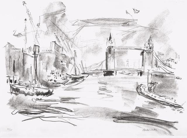 , 'Tower Bridge,' 1967, Galerie St. Etienne