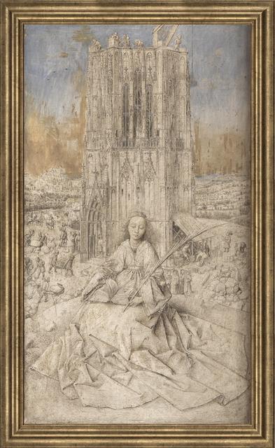 Jan van Eyck, 'Virgin by Fountain', (Date unknown), Reproduction, Giclee, ArtWise