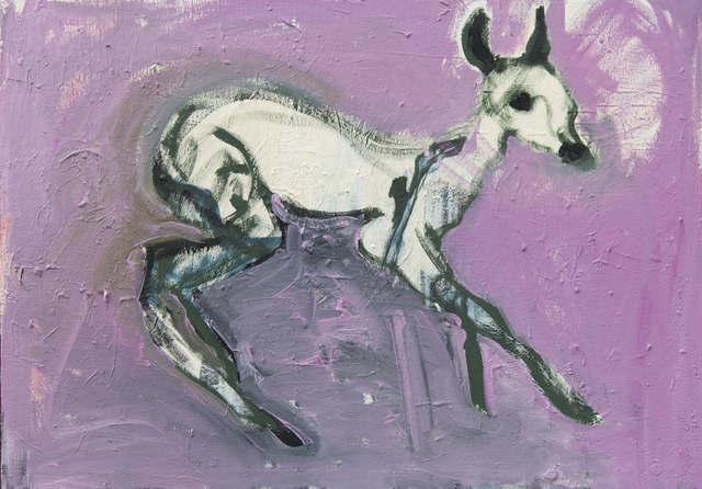 , 'Deer Study,' 2017, Arusha Gallery