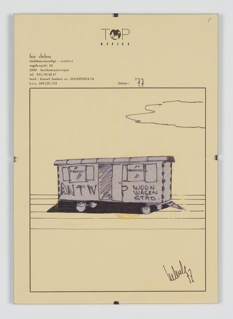 , 'Antwerpen Woonwagenstad,' 1979, Tatjana Pieters