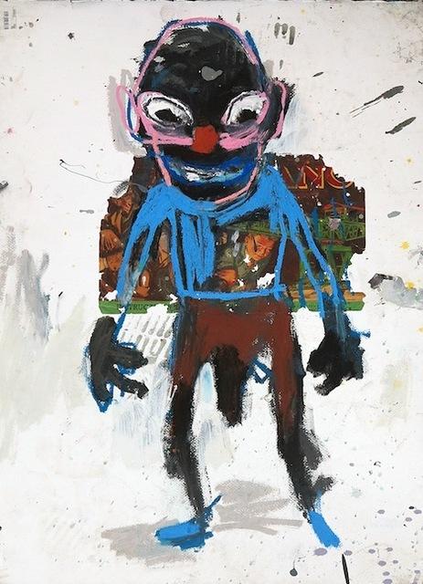 , 'El hombre del mecano,' 2017, Galerie Heike Strelow