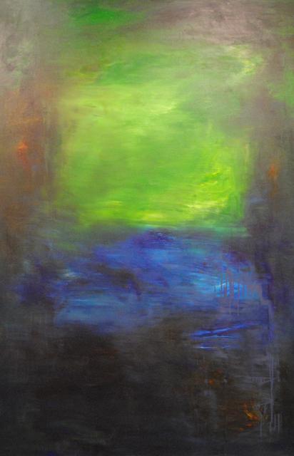 MD Tokon, 'Swim to the End', 2015, Painting, Acrylic on Canvas, Isabella Garrucho Fine Art