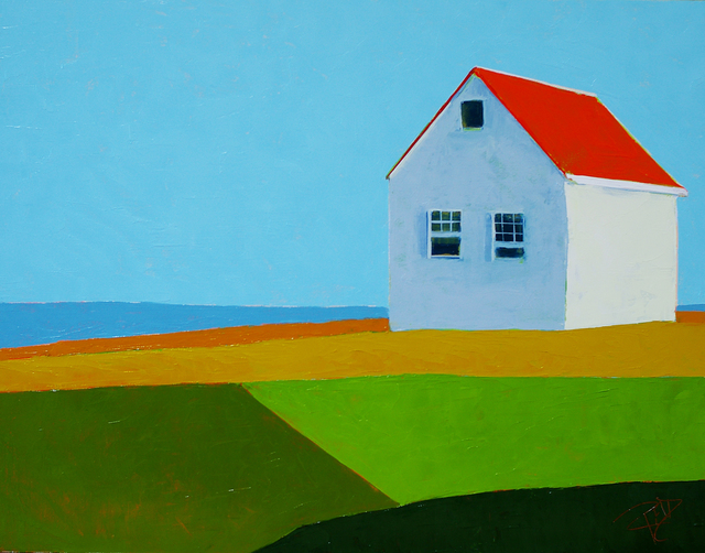 , 'Cottage by the Sea ,' 2019, Addison Art Gallery