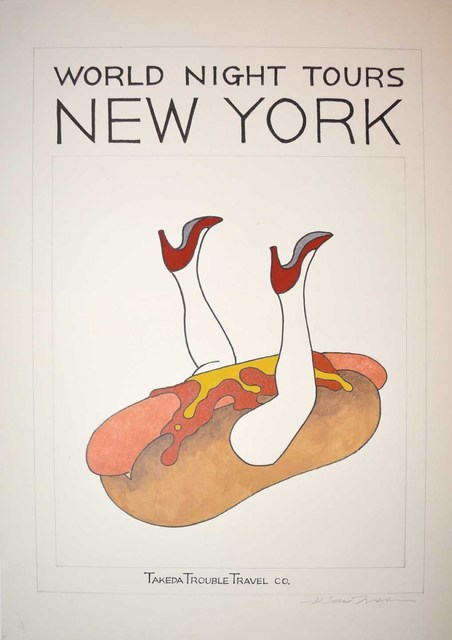 , 'NEW YORK,' 2012 -2014, Ronin Gallery