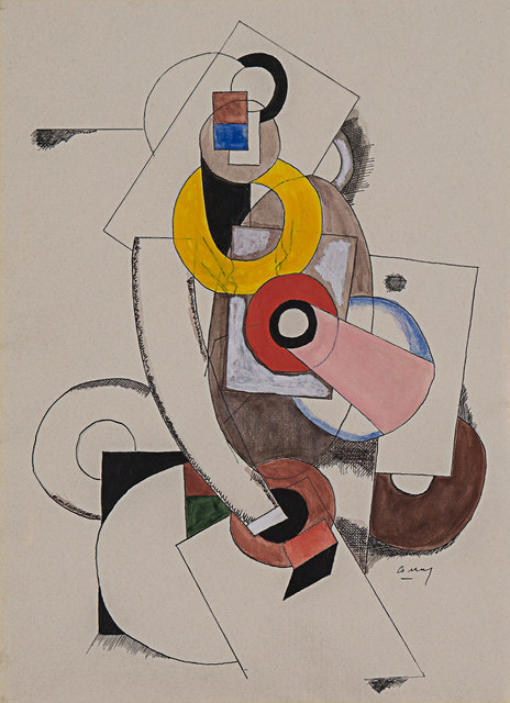 , 'Composition Cubist,' 1919, Rosenberg & Co.