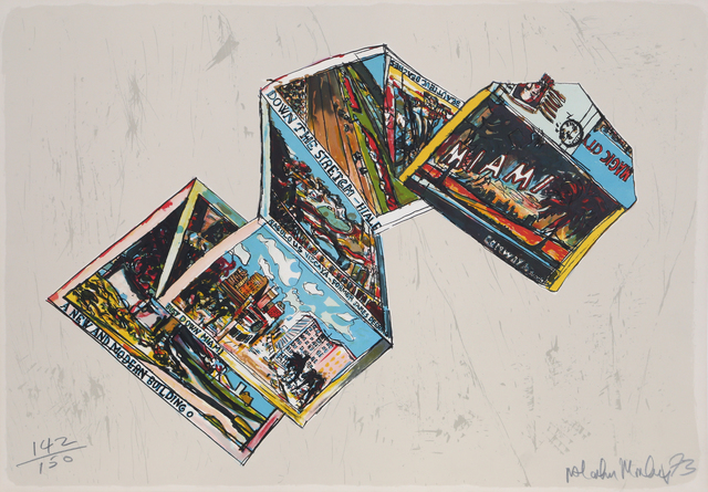 Malcolm Morley, 'Postcards from Miami', 1973, RoGallery