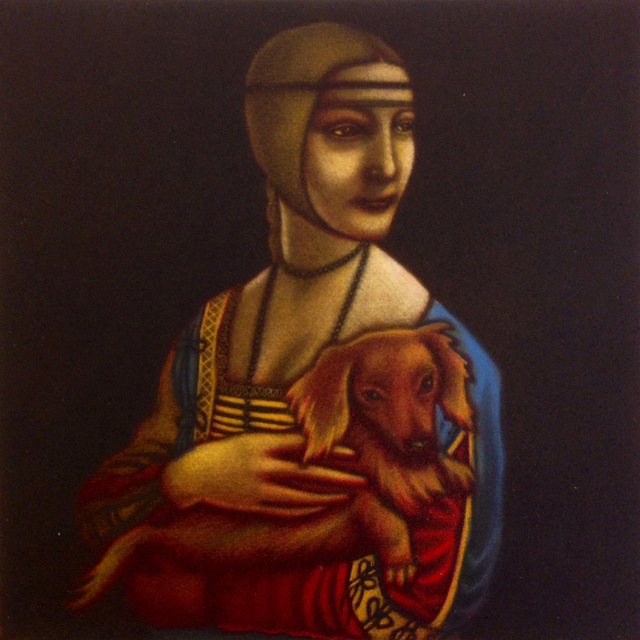 , 'Leonardo da Vinci's Dog,' , Sarah Wiseman Gallery